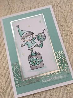 Stampin 'Up! Stampin 'Up! Stampin Up Christmas, Christmas Cards To Make, Christmas Elf, Christmas Carol, Xmas Cards, Holiday Cards, Winter Karten, Stampin Up Weihnachten, Stampin Up Catalog