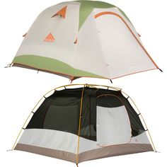 Kelty Trail Ridge 4 Tent with Footprint 4-Person 3-Season  sc 1 st  Pinterest & Kelty Acadia 4 Tent: 4-Person 3-Season | Seasons One color and Colors