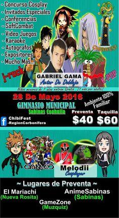 ChibiFest - Region Carbonifera 2016 - Sabinas, Coahuila, México, 28 de Mayo 2016 ~ Kagi Nippon He ~ Anime Nippon-Jin