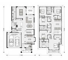 Elwood Design Ideas, Home Designs in Sydney - Liverpool Family House Plans, Dream House Plans, House Floor Plans, Contemporary House Plans, Modern House Plans, Custom Home Designs, Custom Homes, Double Storey House Plans, Home Design Floor Plans
