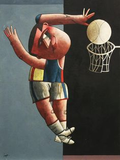 Inos Corradin(1929~)「Basquete-1」
