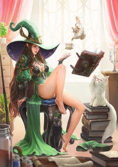 ArtStation - magician study, Kim Ha yeong