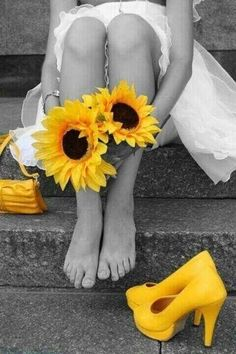 Beautiful colorful pictures and Gifs: Beautiful Flowers Photography. Sunflower Photography, Splash Photography, Portrait Photos, Color Splash Photo, Sunflowers And Daisies, Afrique Art, Sunflower Pictures, Sunflower Facts, Wild Sunflower
