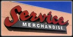 SERVICE MERCHANDISE -- it was like walking directly into a catalog.