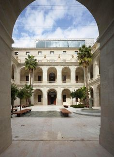 Málaga Museum,© Roland Halbe