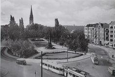 Friedrich-Wilhelm-Platz 1955 in Friedenau.