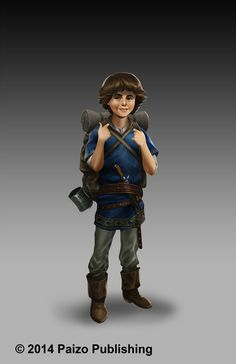 Caleb by starvinartist on DeviantArt. Little boy adventurer