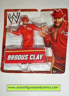 Wrestling WWE action figures BRODUS CLAY mattel toys 2012 mini action figure moc mip mib