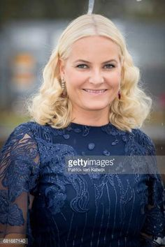 Crown Princess Mette-Matit at the Opera House celebrating the 80th birthday of Norway's King & Queen with a Gala Banquet, May 10, 2017