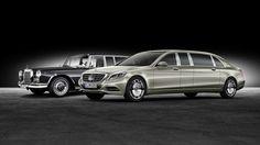 Mercedes 600 versus Maybach