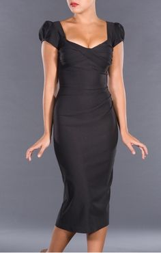 I love the bodice!  I think it would be more fabulous though if it was above the knee!