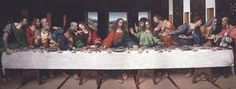 Last Supper - classic group photo