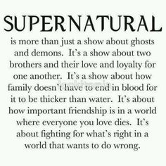 Supernatural omg this is absolutely perfect!