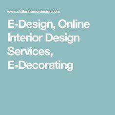 E Design, Online Interior Design Services, E Decorating