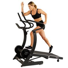 Sunny Health Fitness 7700 Asuna High Performance Cardio Trainer, Manual Portable Treadmill with Heavy Duty Designed Dual Flywheels, Brown A Best Treadmill For Home, Electric Treadmill, Folding Treadmill, Running On Treadmill, Treadmills For Sale, Good Treadmills, Crossfit Equipment, No Equipment Workout, Weights