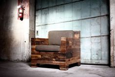 | district millworks: furniture made from reclaimed wood |