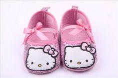 Hello Kitty Glitter Slippers (Pink)