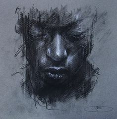 Secrets Of Drawing Most Realistic Pencil Portraits - - Guy Denning - Dreaming of Someone Elses Death Mask Secrets Of Drawing Realistic Pencil Portraits - Discover The Secrets Of Drawing Realistic Pencil Portraits Charcoal Portraits, Charcoal Art, Charcoal Drawing, Life Drawing, Drawing Sketches, Drawings, Pencil Portrait, Portrait Art, Figure Painting