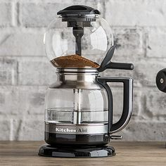 KitchenAid Artisan Siphon Coffee Maker Onyx Black