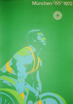 Munich Olympics poster.