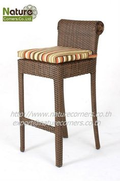 Tf0813 Outdoor Rattan Bar Stool - Buy Outdoor Resin Bar Stools,rattan Weave Bar…