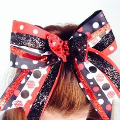 Minnie Inspired Cheer Bow ifly activewear