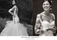 @alessandroangelozzicouture #weddingdress #abitidasposa #alessandroangelozzicouture #weddingdress2015 #weddingdresscollection2015 #biacabalti