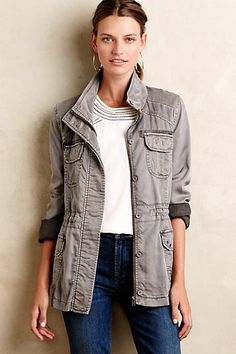 Chambray Anorak by Marrakech, via Anthropologie
