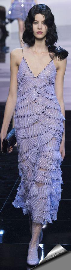 Armani Privé Haute Couture Spring 2016.