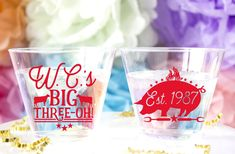 Personalized BBQ Birthday Custom Plastic Cups are such fun to have at your next event! Birthday Bbq, Birthday For Him, 30th Birthday Parties, Happy Cup, Monogram Cups, Wedding Cups, Bbq Party, Personalized Cups, Party Cups