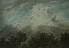 View Between Brixen and Bolsano - Watercolour on paper John Robert Cozens (Date unknown)