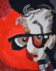 Woody Allen, by Jake