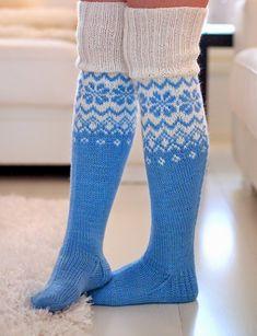 Life with Mari Knitting Charts, Knitting Socks, Knitting Patterns, Woolen Socks, Thick Socks, Knee Socks, Pullover, Leg Warmers, Mittens