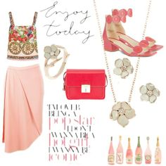 Did someone say flower-power? #pastels #floral #pink #fashion #style #spread #summer #fqurated