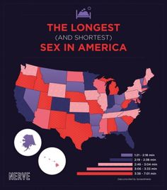 The longest (and shortest) sex map of the United States