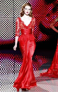 ZUHAIR MURAD. I love red! <3