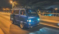Suzuki Every, Kei Car, Lifted Cars, Car Trailer, Car Mods, Mini Trucks, Daihatsu, Van Life, Custom Cars