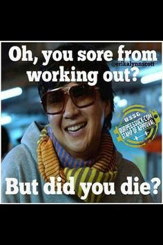 Lol feeling like this today... Sore and kicking #crossfit