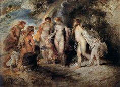 RUBENS, Peter Paul Flemish Baroque Era (1577-1640)_The Judgment of Paris 1606