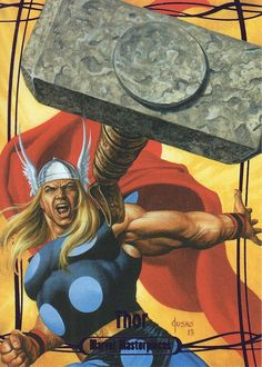 Thor (2016 Marvel Masterpiece)