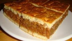 Almás pite – RECEPT A JAVÁBÓL Hungarian Desserts, Hungarian Cuisine, Hungarian Recipes, Hungarian Food, Cake Recipes, Dessert Recipes, Homemade Apple Pies, Sweet Pastries, Eat Dessert First