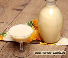 Eggnog Rezept, Cocktails, Drinks, Glass Of Milk, Panna Cotta, Eggs, Nutrition, Breakfast, Ethnic Recipes