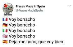 Humor Mexicano, Spanish Memes, Bts Memes, Spain, Lol, Sayings, Funny, How To Make, Random
