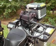 Personal cooling system used with a touring bike