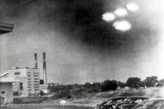 Salem sighting. This is one of the most famous photos taken during the American flying saucer wave of 1952.
