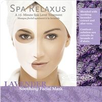 Spa Relaxus Lavender Facial Mask - PPK of 12