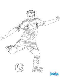 Dessin De Footballeur les 69 meilleures images du tableau coloriages football sur