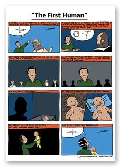First Human by SMBC