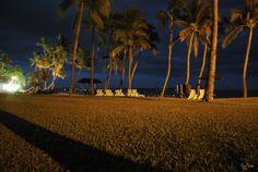 Night Photography - Sheraton Fiji - Denaru Island - night photography