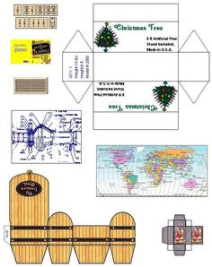 suvasi:   Make your own diy doll house furniture and accessories from patterns and printable pages. Ready to go doll house miniatures, furn...